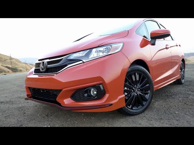 2018 <em>Honda</em> Fit Sport | More Bling for Your Buck | First Look | TestDriveNow