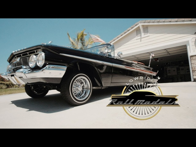 Xavier the X-Man & His 1961 Chevrolet Impala - Lowrider Roll Models Ep. 8