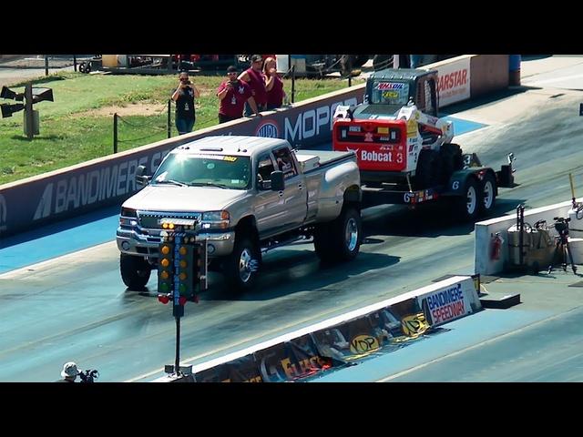 10,000-Pound 1/8-Mile Trailer Tow -Diesel Power Challenge 2017