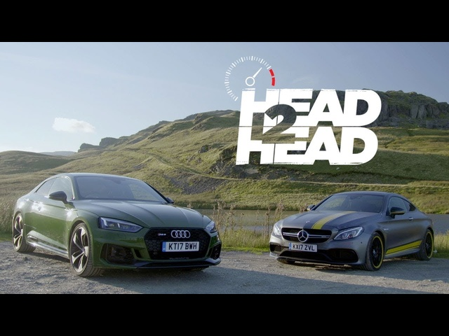 2018 Audi RS5 vs. 2017 <em>Mercedes</em>-AMG C63 S Coupe - Head 2 Head Ep. 94