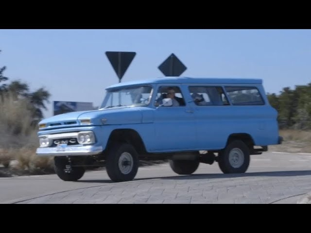 1964 GMC Carryall: The Blue Goose -- /WHEEL LOVE