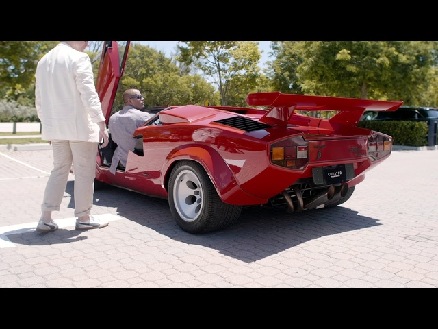 Lamborghini Countach Reverse Lesson w/Chris Harris -- /DRIVE on NBC Sports