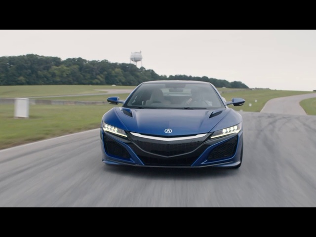 "Acura NSX at VIR ""It Does Skids"" -- /DRIVE on NBC Sports"