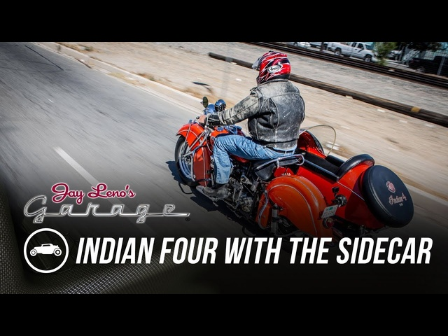 1940 Indian Four with the Sidecar - Jay Leno's Garage