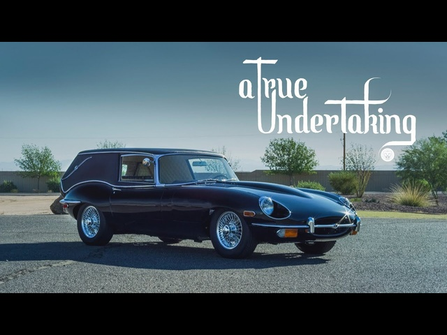 "The ""Harold and Maude"" Jaguar E-Type Hearse: A True Undertaking"