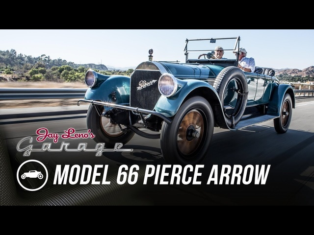 1918 Model 66 Pierce Arrow -Jay Leno's Garage