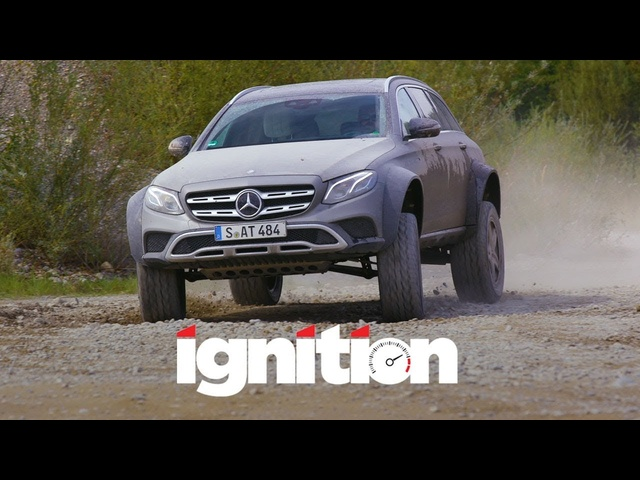<em>Mercedes</em>-Benz E400 All-Terrain 4x4 Squared: Greatest Station Wagon in the World? - Ignition Ep. 184