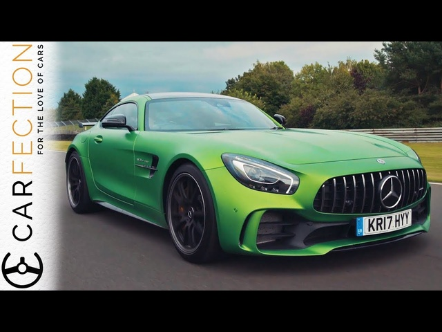 <em>Mercedes</em>-AMG GT R vs <em>Mercedes</em>-AMG E63 S: Two Cars One Engine - Carfection