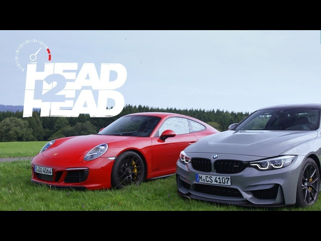 2018 BMW M4 CS vs. 2018 <em>Porsche</em> 911 GTS - Head 2 Head Ep. 95
