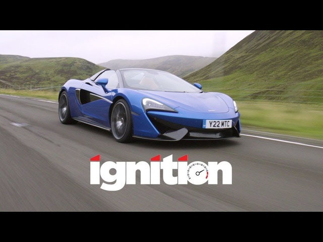 2018 <em>McLaren</em> 570S Spider: Convertible Supercar With No Compromise? - Ignition Ep. 185