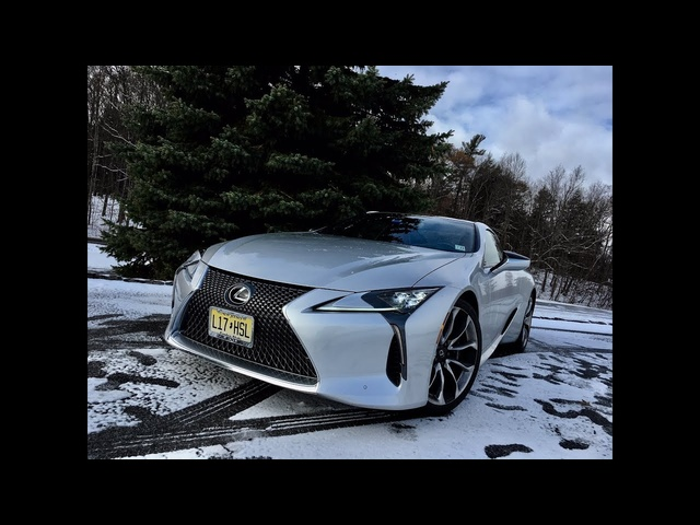 Lexus LC 500 2018 | Complete Review | With Steve Hammes