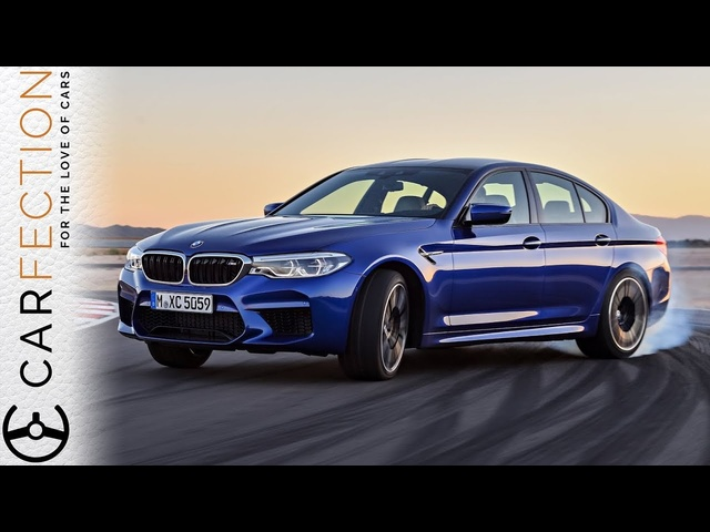 NEW 2018 <em>BMW</em> M5: Still A Sideways, Rubber Burning Beast - Carfection