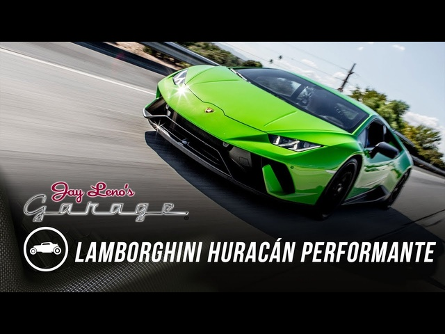 2018 Lamborghini Huracán Performante -Jay Leno's Garage