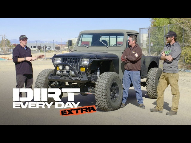 A Custom Diesel <em>Jeep</em> CJ10! - Dirt Every Day Extra