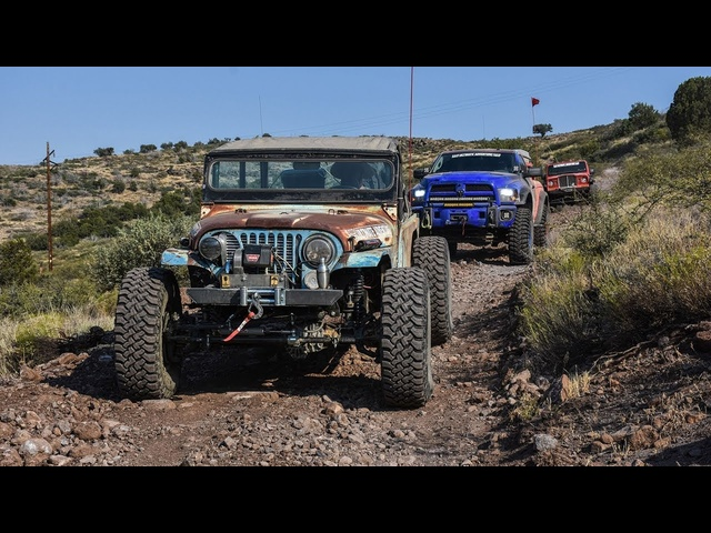 No Pavement: Overlanding Phoenix to Crown King to Payson! Part 2 - Ultimate Adventure 2017