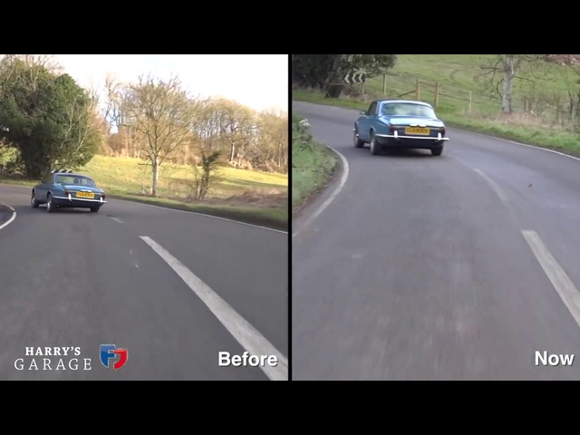 Jaguar V12 XJ-C Coupe sleeper review and update (part2)