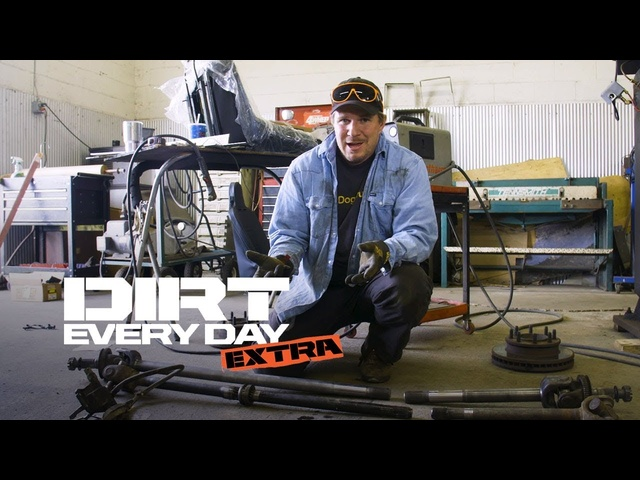 How to Upgrade a Dodge Axle With a Center Axle Disconnect - Dirt Every Day Extra