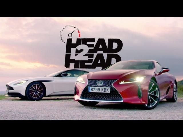 2018 Aston Martin DB11 V8 vs. 2018 <em>Lexus</em> LC 500 -Head 2 Head Ep. 96