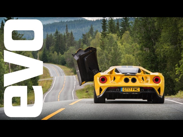 New <em>Ford</em> GT review - attacking the Arctic Circle Raceway in <em>Ford</em>'s Supercar | evo REVIEW