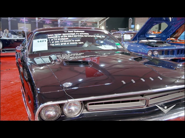 Ultra-Rare '71 Dodge HEMI Challenger | Barrett-Jackson Scottsdale