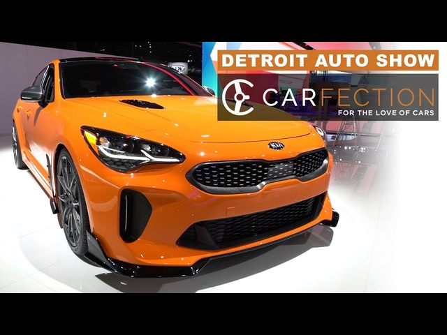 2018 Detroit Auto Show: All The Interesting Stuff In One Video -Carfection