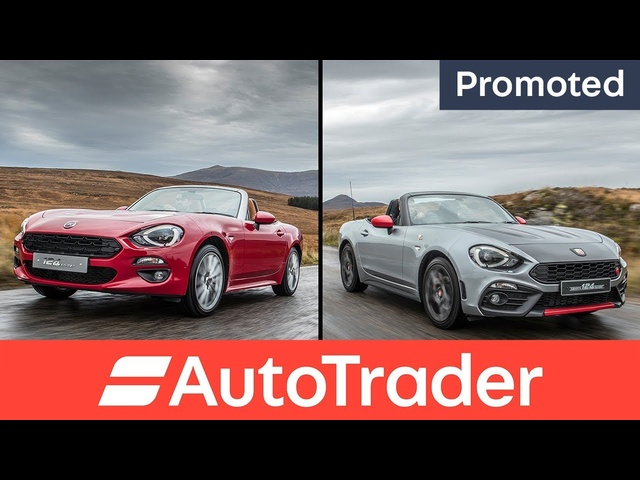 Fiat 124 Spider or Abarth 124 Spider? Which 124 are you? (Promoted)