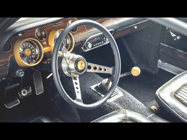 INTERIOR Steve McQueen's Original 1968 Ford Mustang Bullitt Video CARJAM TV