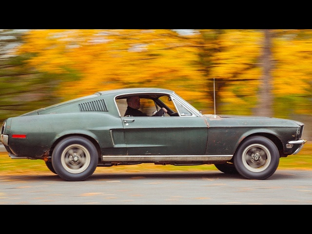 Steve McQueen's Original 1968 Ford Mustang Bullitt Driving Video Ford Mustang Bullitt Interior