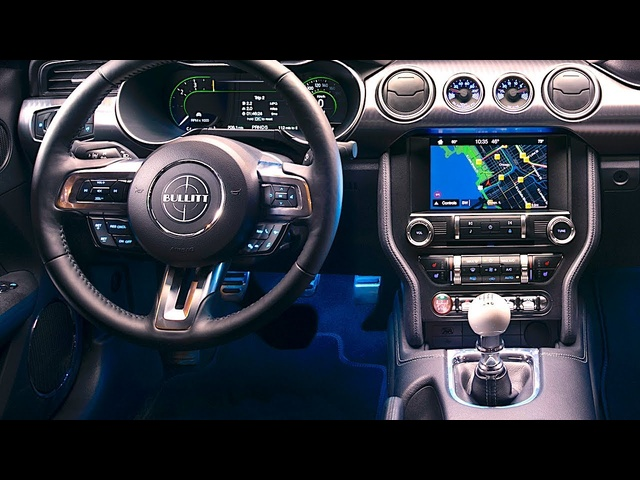 <em>Ford</em> Mustang Bullitt 2019 INTERIOR Video New Mustang Bullitt Interior Options CARJAM TV