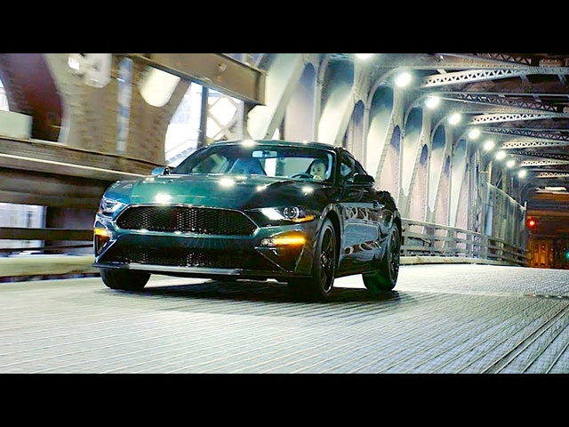 Amazing <em>Ford</em> Mustang Bullitt 2019 Driving Video Great Engine Sound Steve McQueen Bullitt Mustang
