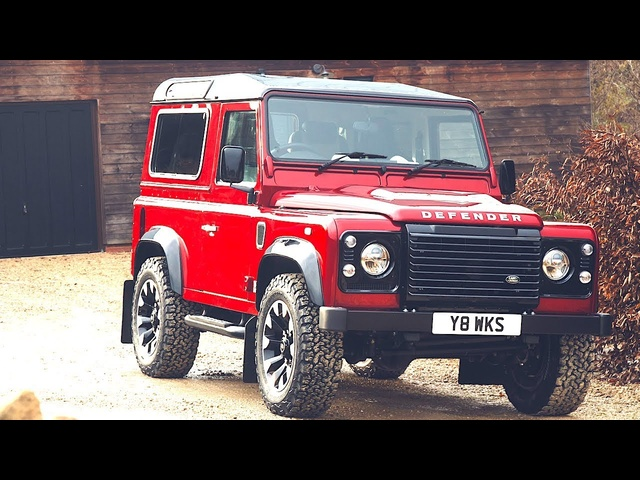 Land <em>Rover</em> Defender V8 2018 World Premiere Commercial Land <em>Rover</em> Defender 70th Edition CARJAM TV