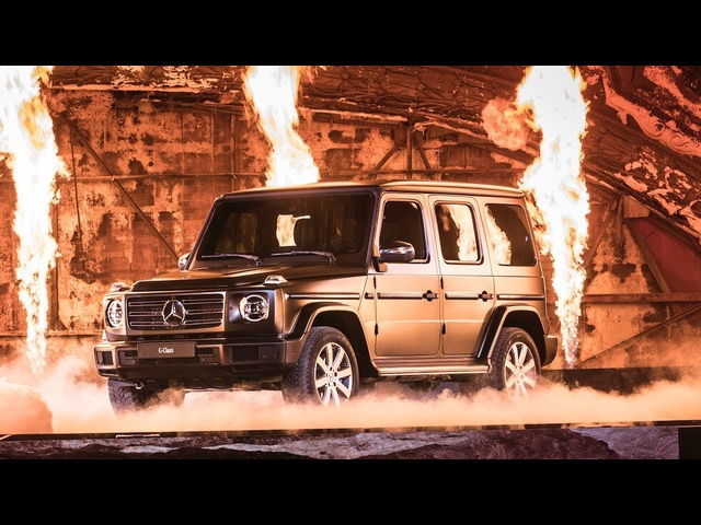 2018 <em>Mercedes</em> G Wagon Live World Premiere New <em>Mercedes</em> G Class Review W464 2019 CARJAM TV