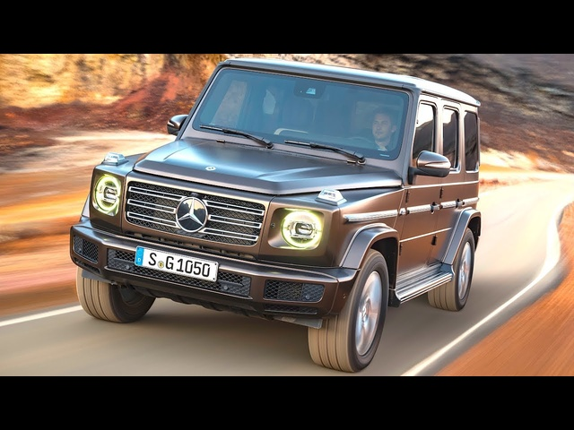 2018 <em>Mercedes</em> G Wagon Commercial World Premiere New <em>Mercedes</em> G Class W464 2019 CARJAM TV