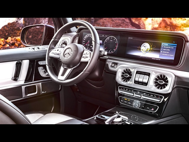 New <em>Mercedes</em> G Class Interior 2018 World Premiere New <em>Mercedes</em> G Wagon Interior W464 2019 CARJAM TV