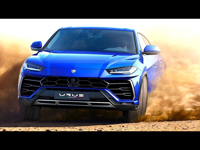 Lamborghini Urus Driving Engine Sound Commercial 2018 World Premiere CARJAM TV HD
