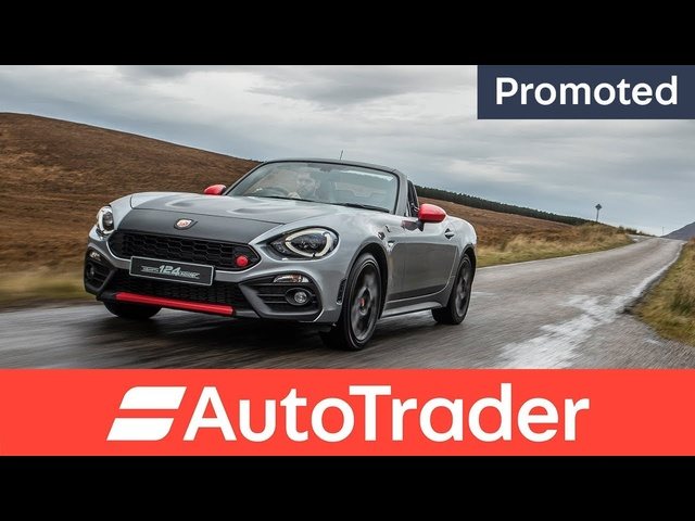 Abarth 124 Spider: A Legend is Reborn - Auto Trader promotion