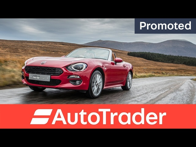 Fiat 124 Spider: Reborn to be Wild - Auto Trader promotion