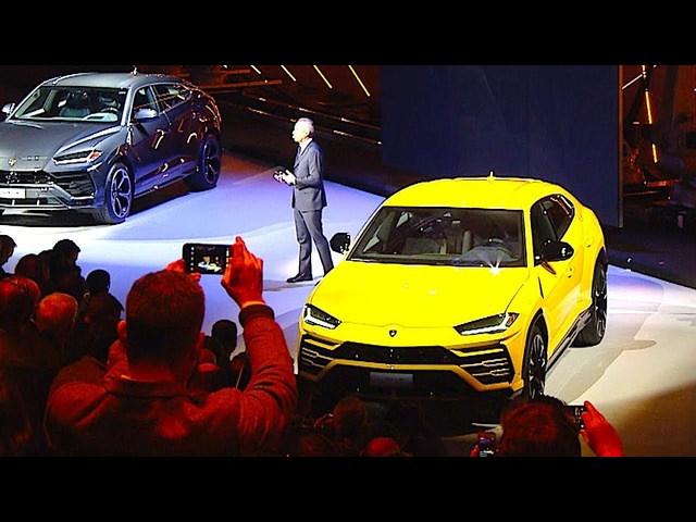 Lamborghini Urus Live World Premiere 2018 CARJAM TV