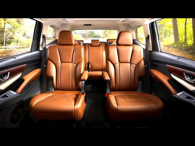 Subaru Ascent INTERIOR 8 Seater Luxury Edition In <em>De</em>tail New Subaru Ascent Touring Interior 2018