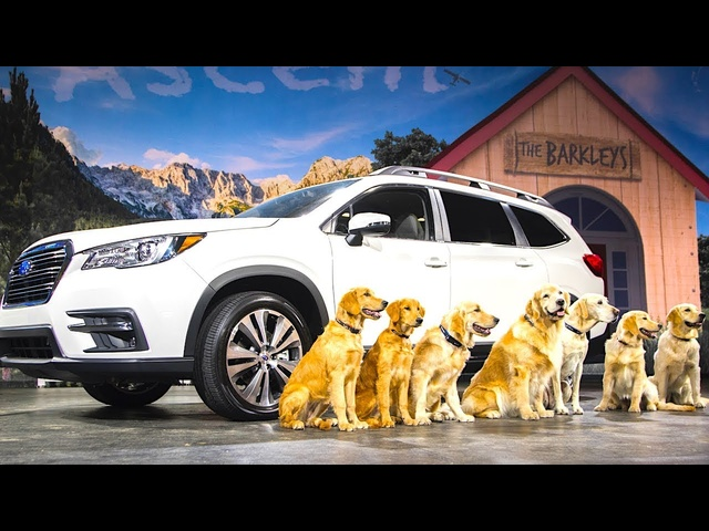 Subaru Ascent Live World Premiere All New 2018 + Subaru Dogs Commercial The Barkleys CARJAM TV