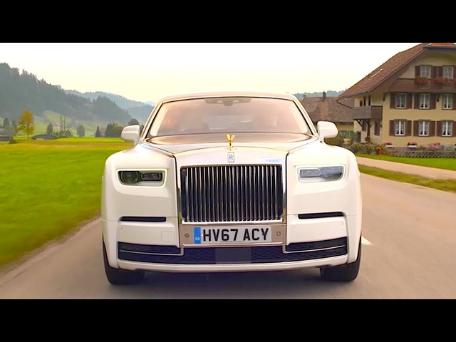 New Rolls Royce Phantom 2018 Promo Full Length New Rolls Royce Driving + Interior CARJAM TV