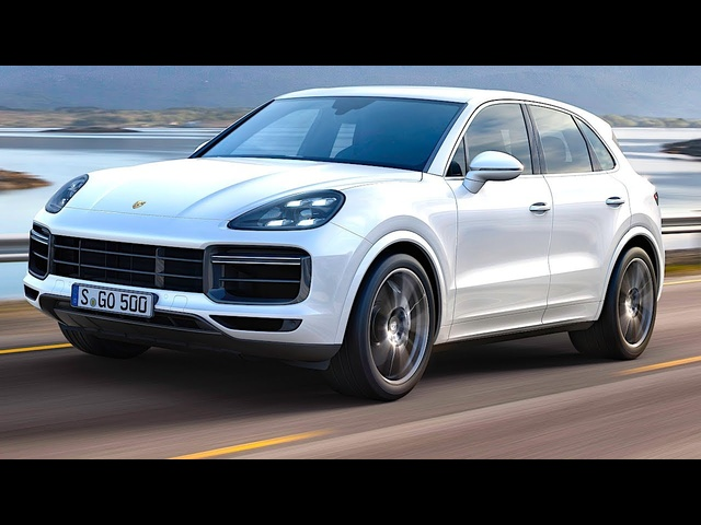 2018 <em>Porsche</em> Cayenne Turbo Driving Video World Premiere New <em>Porsche</em> Cayenne Turbo 2018 CARJAM TV