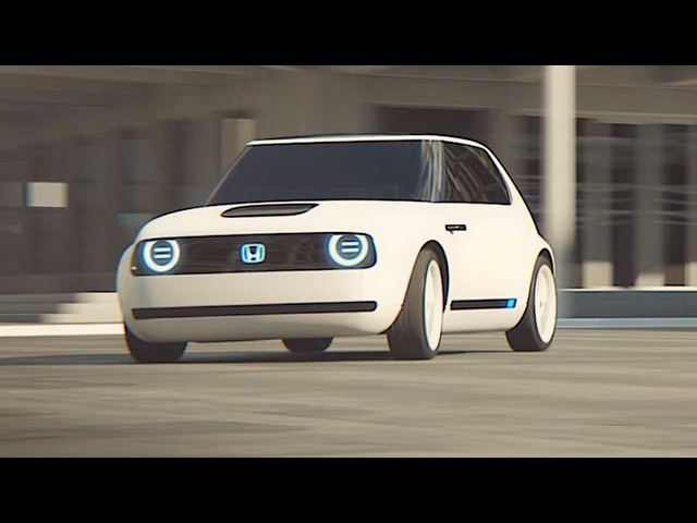 <em>Honda</em> Urban EV Electric Driving Video World Premier New <em>Honda</em> Concept Frankfurt Motorshow 2017 IAA