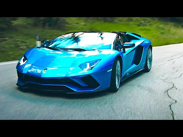 <em>Lamborghini</em> Aventador S Roadster 2018 World Premiere Video New Aventador Cabrio CARJAM TV HD