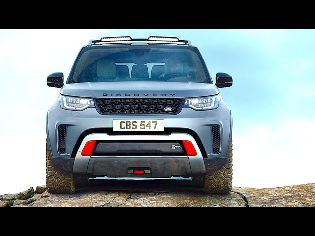 New Land <em>Rover</em> Discovery SVX REVIEW 8 New Features 2018 World Premiere New Discovery SVR 2018 CARJAM