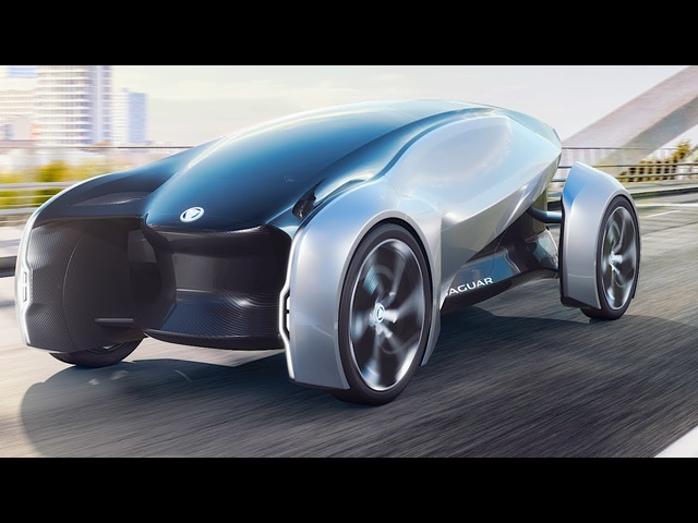Jaguar Future Type World Premiere Jaguar Electric Self Driving Car 2018 CARJAM TV HD
