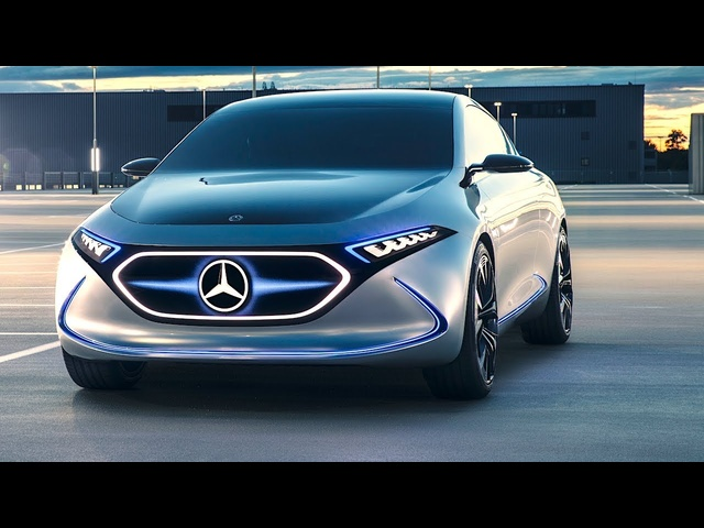 Mercedes EQA World Premiere <em>Tesla</em> 3 Vs Mercedes Electric Car Frankfurt 2017 CARJAM TV HD