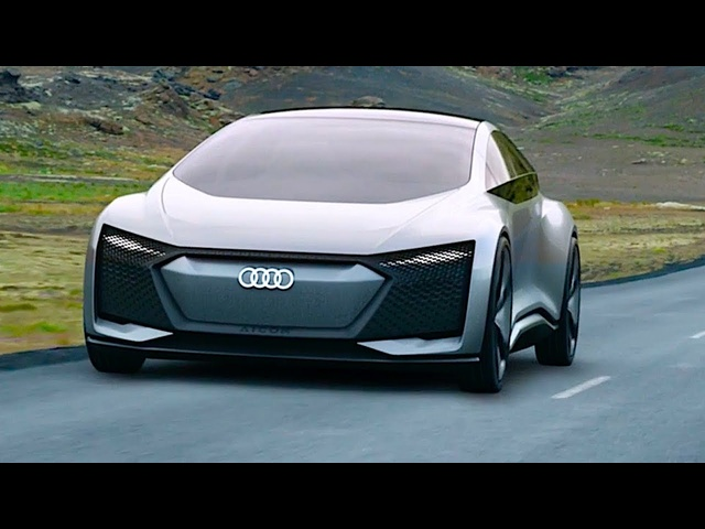 <em>Audi</em> Aicon A8 Electric Autonomous Car World Premiere Video No Steering Wheel CARJAM TV HD