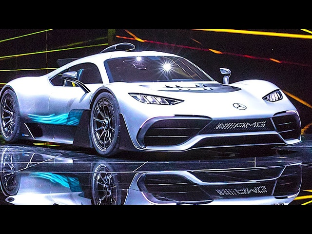 <em>Mercedes</em> AMG Project One Live World Premiere Lewis Hamilton Video CARJAM TV HD