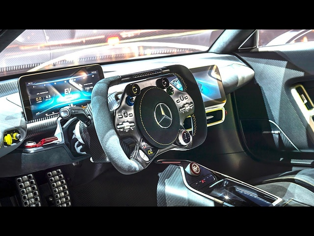 <em>Mercedes</em> AMG Project One INTERIOR Video In Detail New AMG P1 Interior CARJAM TV HD